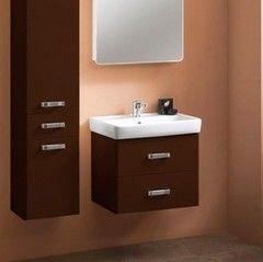 Мебель для ванной комнаты Акватон Тумба Америна 60 (1A135401AM430) темно-коричневая