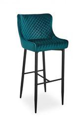 Барный стул Барный стул Signal Colin B Velvet H-1 (зеленый/черный мат)