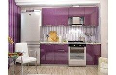 Кухня Кухня Интерьер-Центр Олива сирень