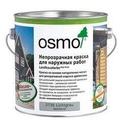 Краска Краска Osmo Landhausfarbe для наружных работ 0.75 л