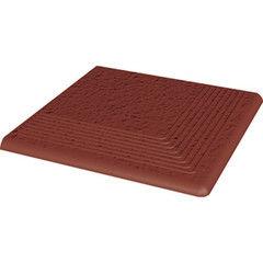 Клинкерная плитка Клинкерная плитка Ceramika Paradyz Cloud Rosa Duro ступень рельефная угловая 30x30