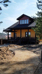 Строительство из газосиликатных блоков СтройСпецПартнер Гостевой домик п.Раубичи