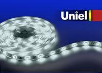 Uniel ULS-5050-30LED/m-10mm-IP67-DC12V-7,2W/m-5M-W