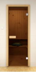 Дверь для бани и сауны Дверь для бани и сауны ALDO Стандарт бронза 800х2100