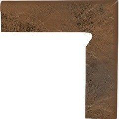 Клинкерная плитка Клинкерная плитка Ceramika Paradyz Semir Beige цоколь угловой правый 30x30