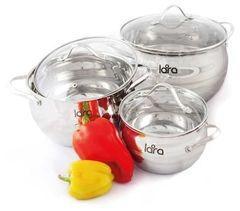 Наборы посуды Lara LR02-86 Apple 6 пр