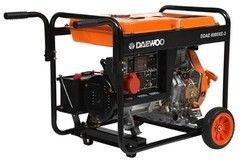 Генератор Дизельный генератор Daewoo DDAE 6000XE-3