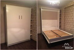 Мебель-трансформер Кровать-шкаф Mebelin Пример 9