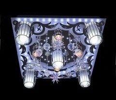 Светильник Profitlight 8264/5+4 BK+CR