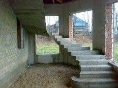 Лестница из бетона Луч надежды - 3 Вариант 5