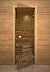 Дверь для бани и сауны Дверь для бани и сауны Акма Кноб Банька