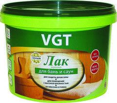 Лак Лак ВГТ Акриловый для бань и саун 2,2 кг