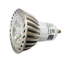 Лампа Лампа КС CET048-3х1Вт-3000К-180Lm-GU10