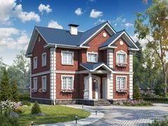 Строительство домов Строительство домов БелДревМонтаж Олимп К 8,5х10 без гаража