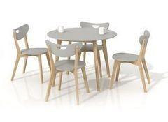 Обеденный стол Обеденный стол Halmar Peppita (серый)