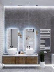 Дизайн ванной PuzzleHome Вариант 34