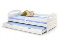 Детская кровать Детская кровать Halmar Natalie 90х200 (белый)