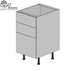 Кухонный шкаф Кухонный шкаф Диприз Шкаф нижний 40 тройной Д 9001-25