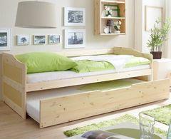 Детская кровать Детская кровать Kinderwood Лотос-1 (натуральная сосна)