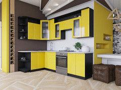 Кухня Кухня Артем-мебель Виола желтый глянец