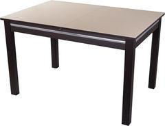 Обеденный стол Обеденный стол Домотека Вальс-1 (кремовый/венге/08) 80x120(157)x75
