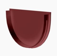 Водосточная система Docke Standard Заглушка воронки (гранат)