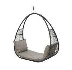 Кресло из ротанга Greendeco Ibiza Party Grey 9840259