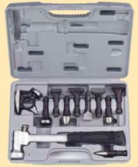 Столярный и слесарный инструмент Force Рихтовочный молоток с насадками 911M1