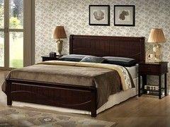 Кровать Kondor I-3655 (160х200) из массива гевеи