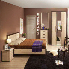 Спальня Глазовская мебельная фабрика Bauhaus 01