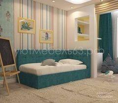Кровать Кровать УЮТ Модерн 120x200 (Velvet Lux 84)