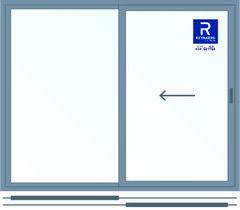 Алюминиевое окно Reynaers 2000*1600 раздвижное