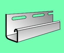 Сайдинг Сайдинг Vox S-15 Планка J - TRIM (светло-зеленая)