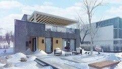 Каркасный дом Каркасный дом КаркасКомплектСтрой Проект 8