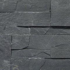 Натуральный камень Натуральный камень АЛЬТЕРфасад 3D панель из сланца Graphite slate