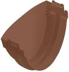 Водосточная система Альта-Профиль Стандарт Заглушка коричневая