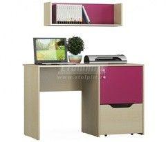 Письменный стол СтолПлит Маугли Фуксия