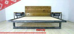 Кровать Кованая кровать Мани Фест Лофт 7