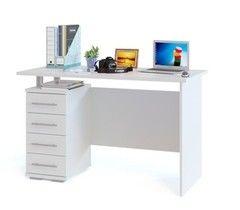 Письменный стол Сокол-Мебель КСТ-106.1 (белый)