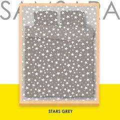 Постельное белье Постельное белье SAMSARA Stars Grey 200-15