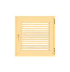 Деревянное окно Сосна слуховое, в/с, Модель 4