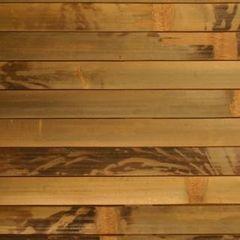 Декоративная стеновая панель Декоративная стеновая панель Бамбуковый рай Бронзовая черепаха (ламель 17 мм)