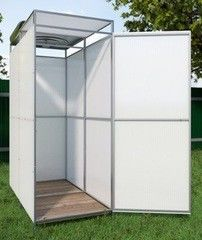 Летний душ для дачи Летний душ для дачи Alsta с раздевалкой