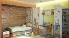 Детская комната Детская комната ТриЯ Китти