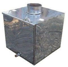 Бак, емкость для воды Татра Бак самоварного типа из нержавеющей стали 115л