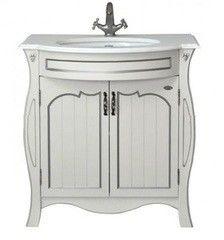 Мебель для ванной комнаты Атолл Тумба с умывальником Ривьера ivory