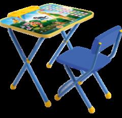 Детский стол Nika Д2Ф1 Феи. Азбука