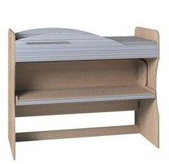 Двухъярусная кровать Глазовская мебельная фабрика Калейдоскоп 2 (фасад серый)