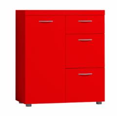 Комод Комод Глазовская мебельная фабрика 2 Проект 17 (красный)