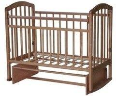Детская кровать Кроватка Антел Алита-3 (орех)